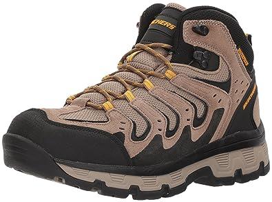 skechers mens boots bootie