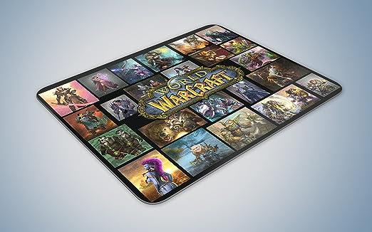 Mundo de Warcraft alfombrilla de rat n Gaming PC UK l ser ...