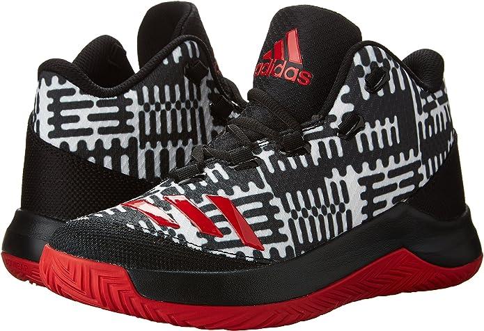 Salto Cardenal Desesperado  Adidas Kids Outrival 2016 Basketball Shoes, Core Black/Scarlet/Footwear  White, 11 M US: Amazon.ca: Shoes & Handbags
