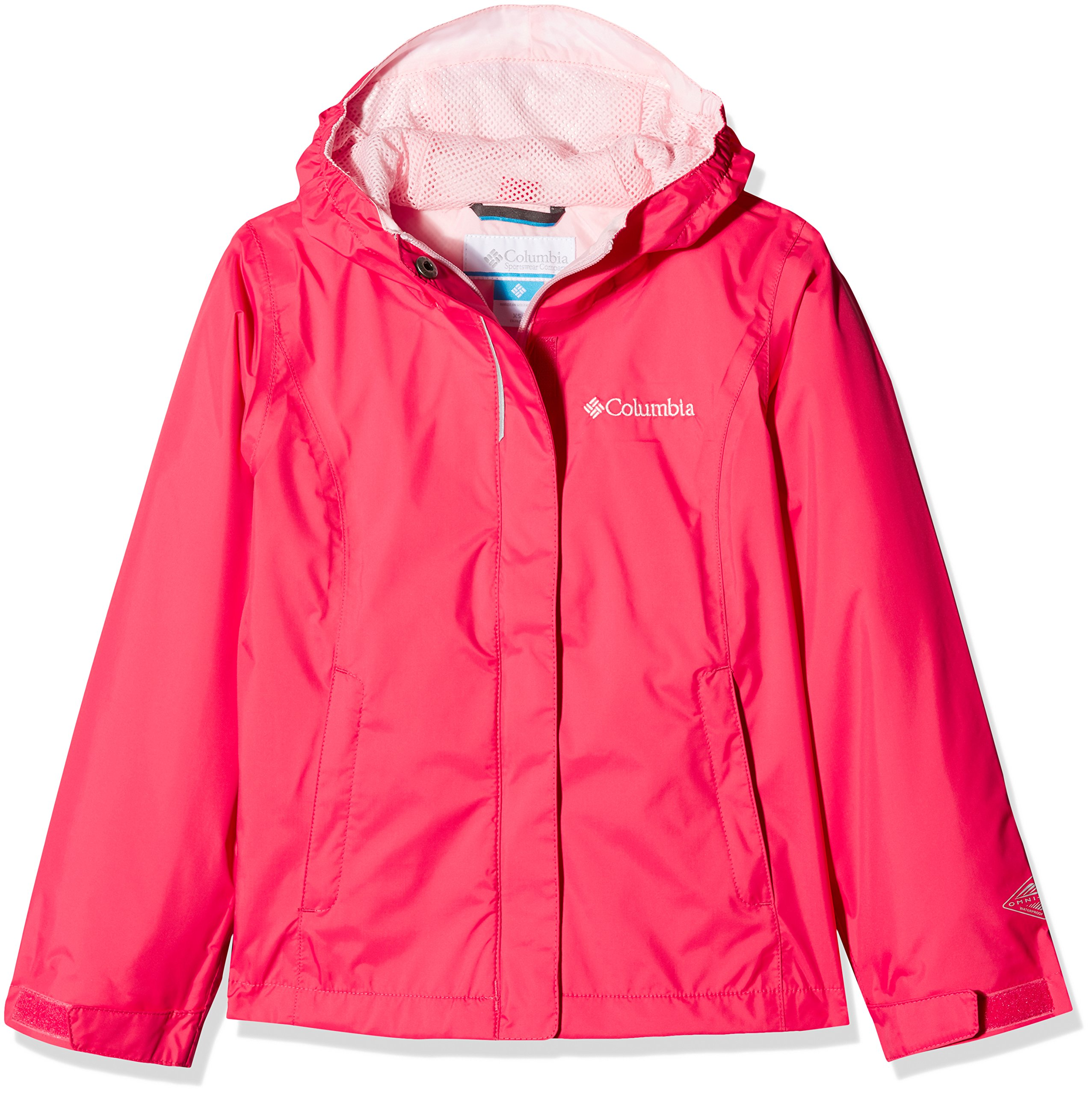Columbia Little Girls' Arcadia Jacket, Punch Pink, XS