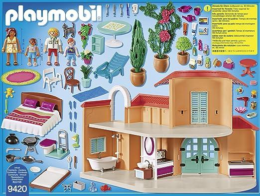 PLAYMOBIL Family Fun Chalet, A partir de 4 años (9420): Playmobil: Amazon.es: Juguetes y juegos