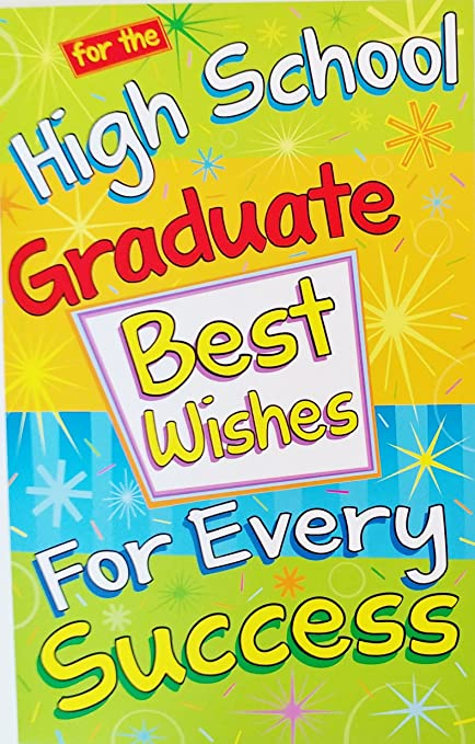 Amazon for the high school graduate best wishes for every for the high school graduate best wishes for every success graduation greeting card m4hsunfo