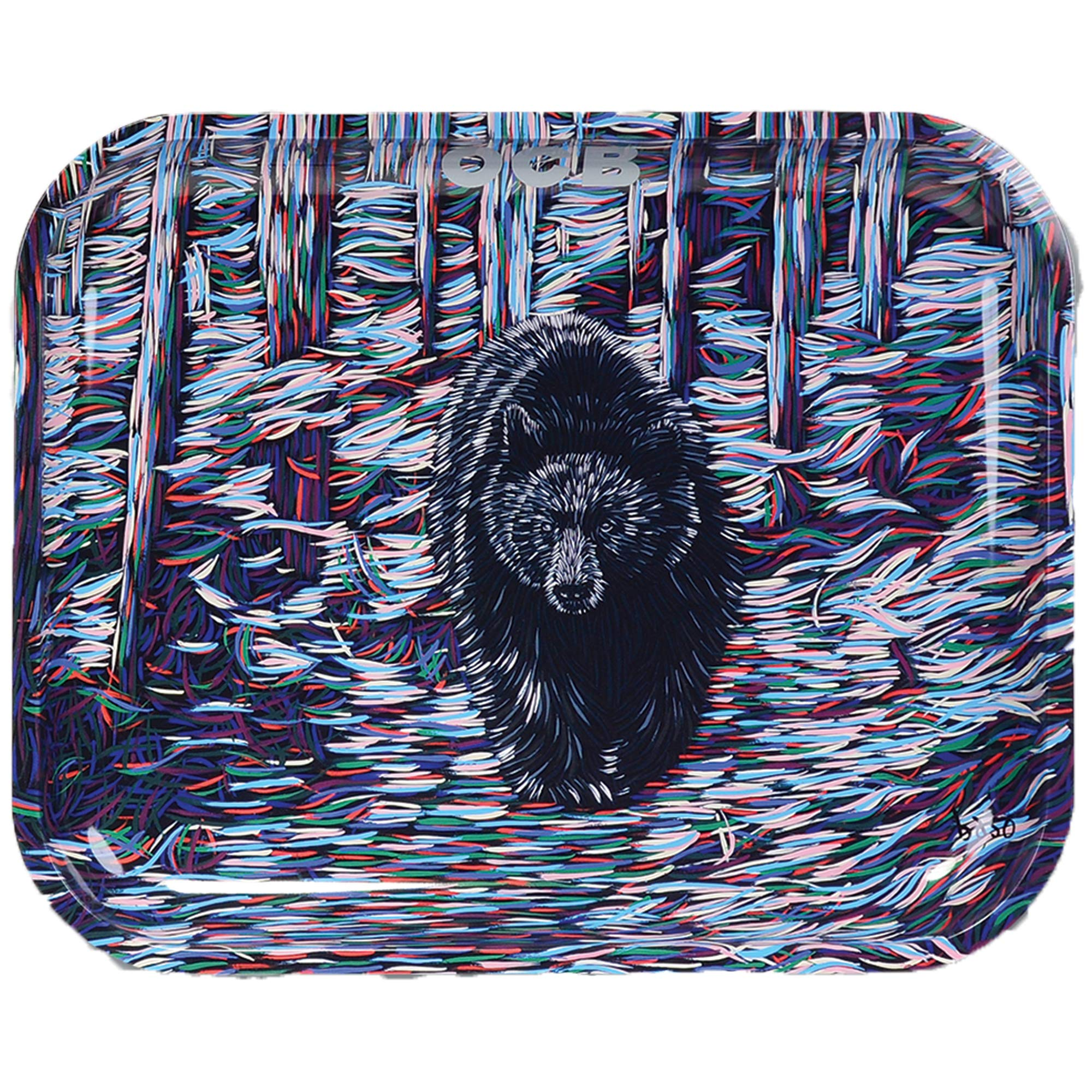OCB Rolling Tray - Bear - (Large) by OCB