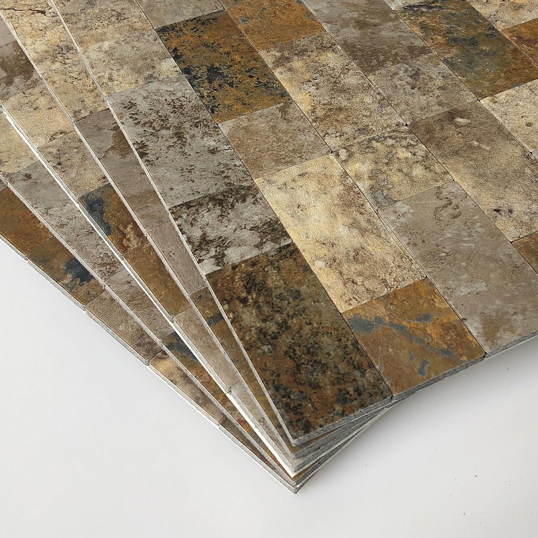 Art3d 12x12 Peel And Stick Backsplash Tile For Kitchen Faux Stone