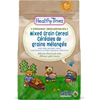 Healthy Times Organic Whole Grain Baby Cereal, Whole Grain | Baby Food for Babies 4 Months & Older | 142 g Bag, 1 Count