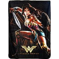 """DC Comics Wonder Woman, Good Soldier Micro Raschel, 46"""" x 60"""" Throw Blanket"""