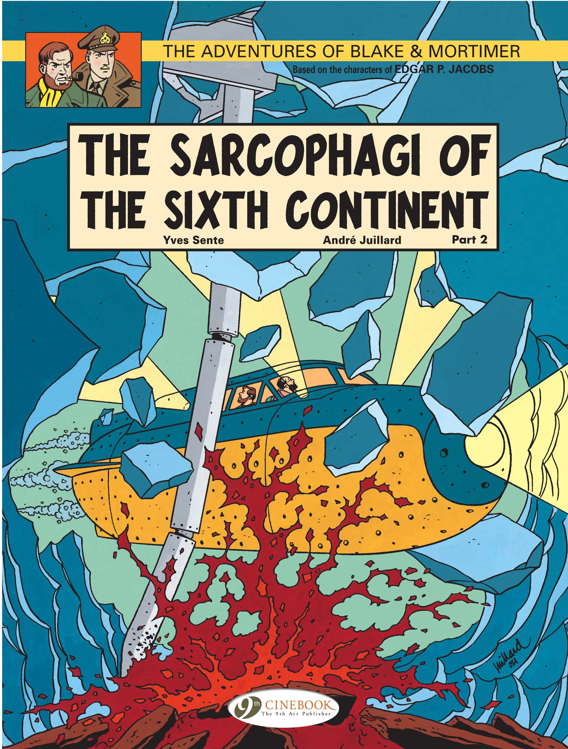 Read Online The Sarcophagi of the Sixth Continent - Part 2 (Blake & Mortimer) pdf epub