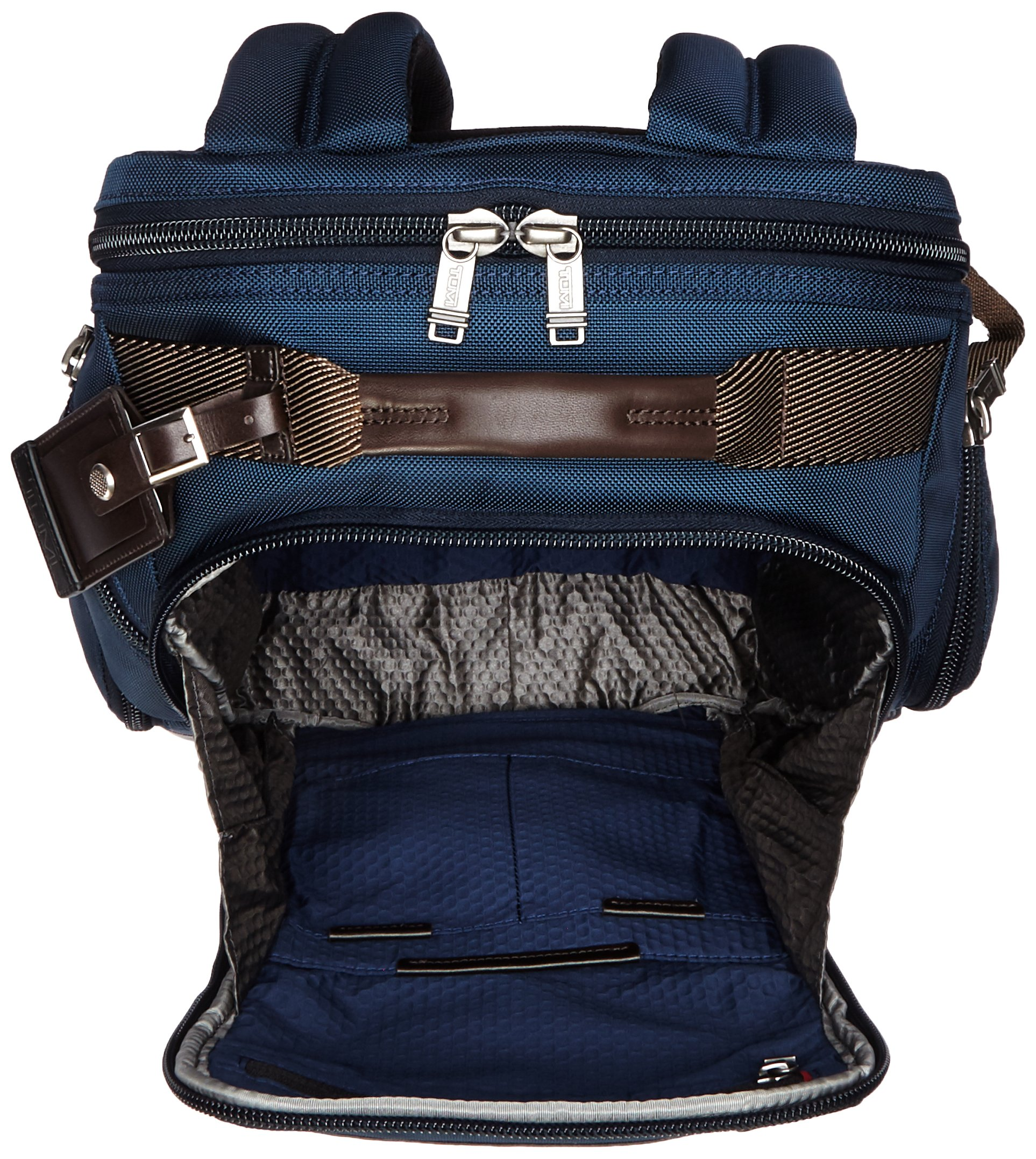 Tumi Alpha Bravo Shaw Deluxe Brief Pack, Navy by Tumi (Image #5)