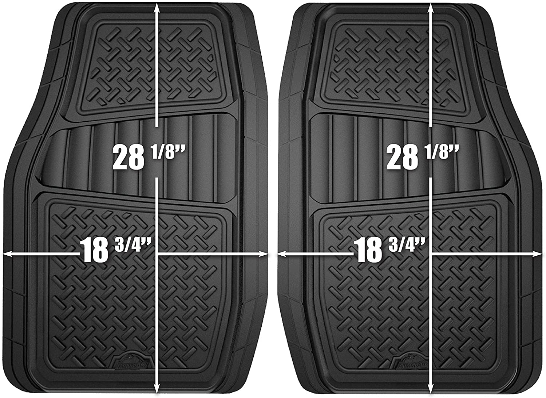 9 Piece Car Seat Covers Set Black and Black w// 4 Piece Black Carpet Floor Mats