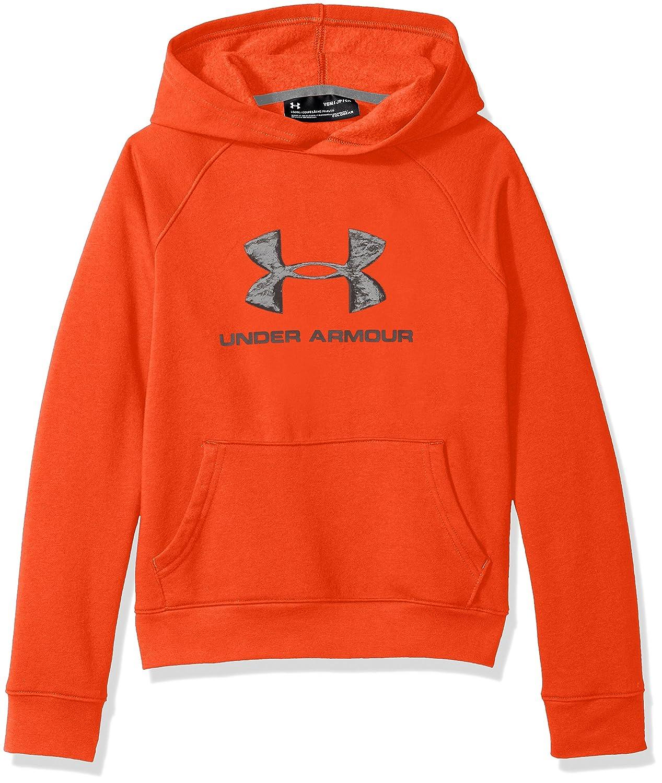 Under Armour Boys Rival Logo Hoodie Under Armour Apparel 1325328-P