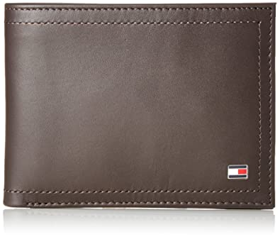Tommy Hilfiger Harry CC and Coin Pocket, Bolsa y Cartera para Hombre, Marrón (Coffee Bean), 2x9.6999999999999993x13 cm (W x H x L)