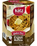 Katz Gluten Free Cinnamon Raisin English Muffins 8.5 Ounce (Pack of 1)