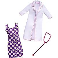 Barbie - Ropa muñeca Fashionsita, Bata de doctora