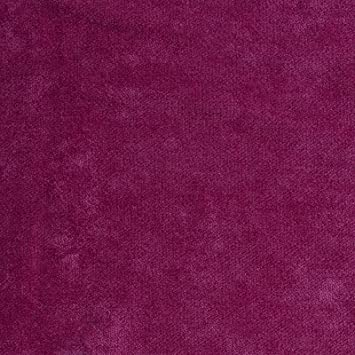 Amazon Com Fuschia Pink Solid Solid Chenille Upholstery Fabric By