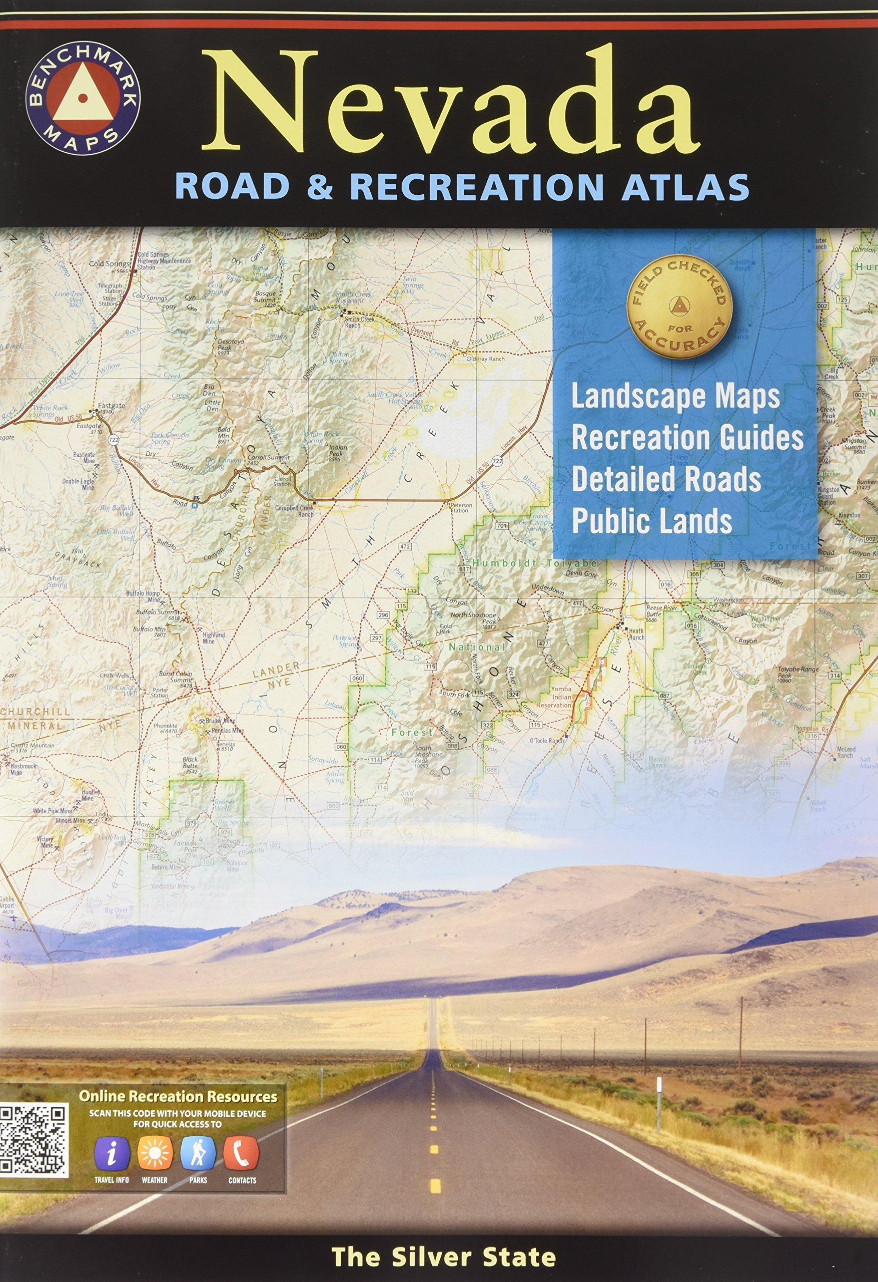 Nevada Road & Recreation Atlas: 6th Edition by Benchmark