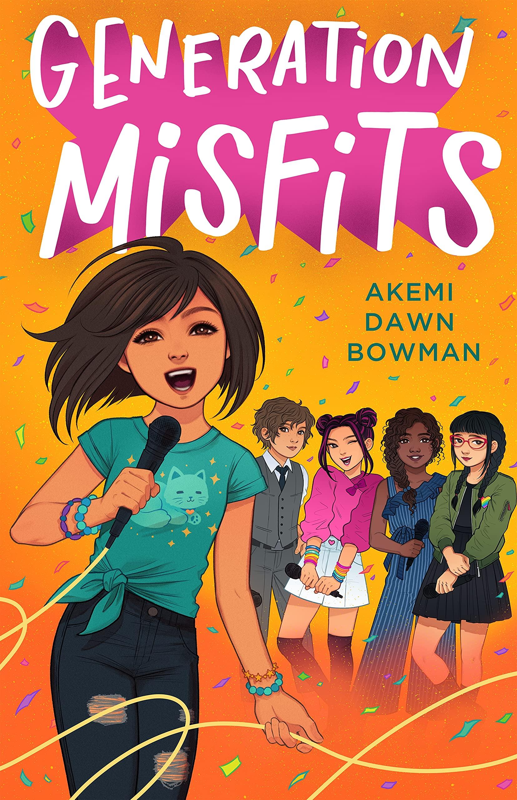 Generation Misfits: Bowman, Akemi Dawn: 9780374313746: Amazon.com: Books