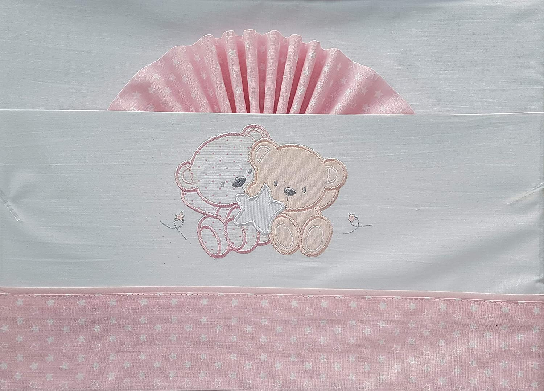 Duffi Baby 0728-06 - Sábana ositos y estrella, algodón, minicuna ...