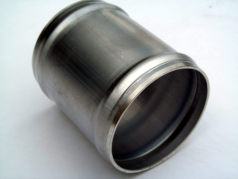 "4/"" LONG HPS 1.25/"" 32mm OD Aluminum Joiner Tube Intake Pipe w// Bead Roll 16 Gauge"