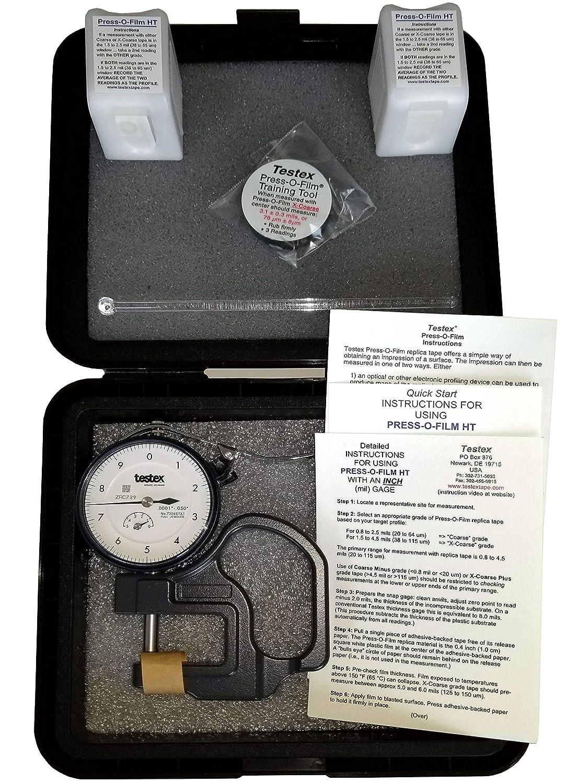 Amazon.com: Testex Press-O-Film Replica Tape Kit with ...