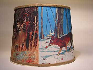 Wildlife lamp shade deer large lampshades amazon wildlife lamp shade deer large aloadofball Image collections
