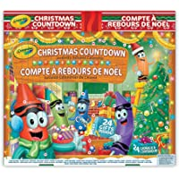 Crayola Christmas Countdown Activity Advent Calendar, Gift for Kids, Ages 3,4, 5, 6 and Up, Arts and Crafts, Gifting