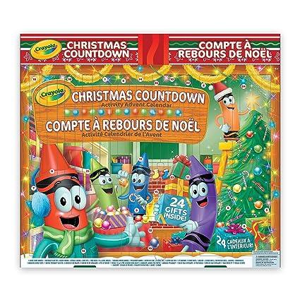 Crayola Christmas Countdown Activity Advent Calendar $17.24 @ Amazon.ca