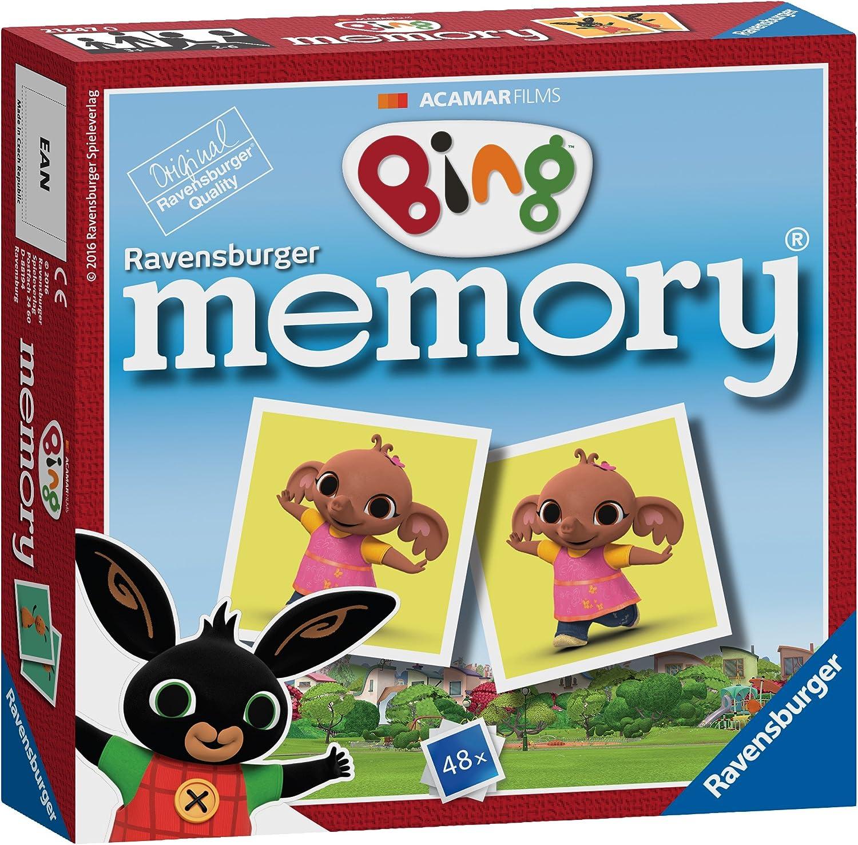 Gioco di Memoria Ravensburger Bing Bunny in Formato Mini Multi