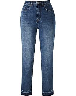 Womens Bridget Straight Leg Jeans Regular Length Simply Be