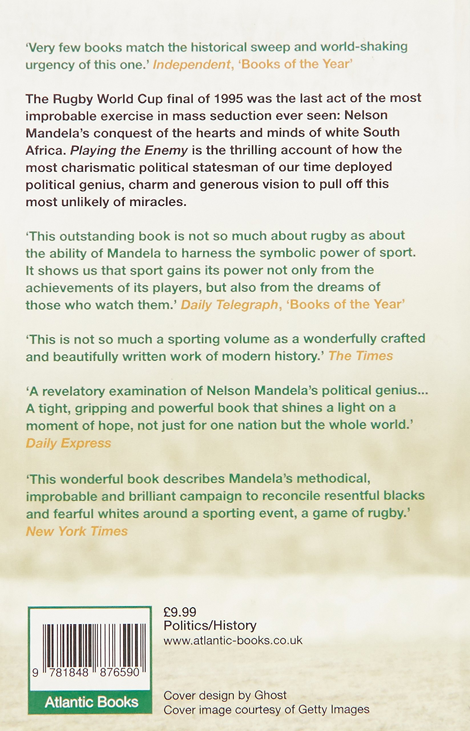 Playing the Enemy: Nelson Mandela and the Game That Made a Nation ...