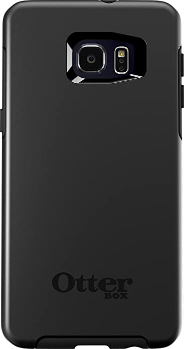 OtterBox SYMMETRY SERIES Case for Samsung Galaxy S6 EDGE+ - Retail Packaging - BLACK
