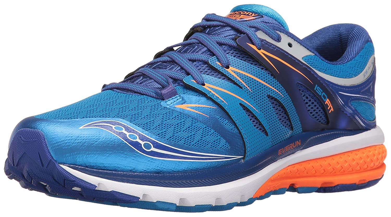 Saucony Zealot ISO 2, Zapatillas de Correr para Hombre 12 D(M) US AZUL NARANJA