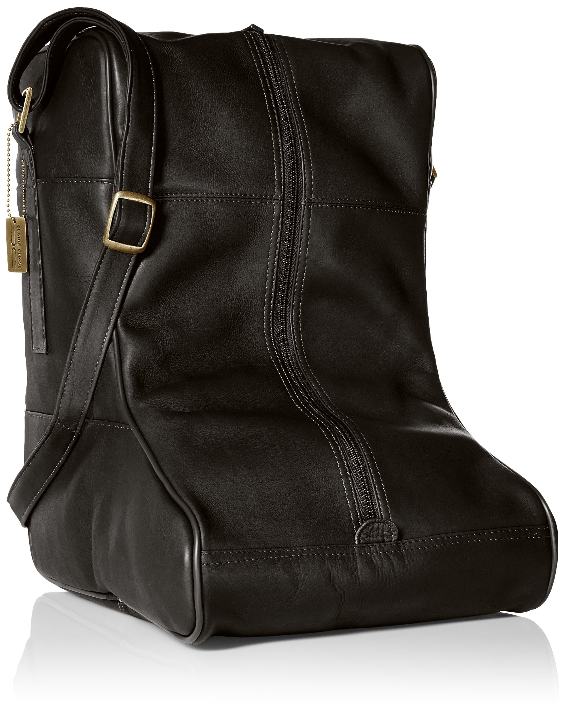 Claire Chase Ranchero Boot Bag, Black