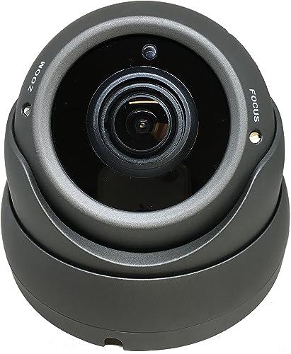 101AV 1080P True Full-HD Security Dome Camera 2.8-12mm Variable Focus Lens 2.4Megapixel STARVIS Image Sensor IR in Outdoor WDR OSD Works w 1080P TVI 1080P AHD 1080P CVI Standard Recorder only