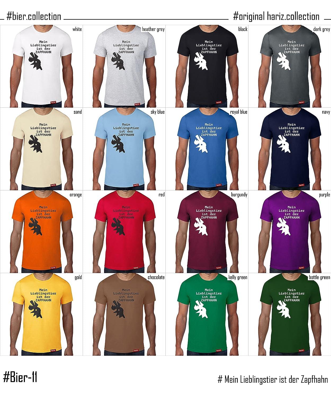 12cd80813542f4 HARIZ Mein Lieblingstier ist der Zapfhahn  Original T-Shirt - 16 Farben