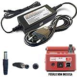 ABC Products® Boss / Roland sostituzione PSU 9V / 9 Volt / 200 Mah alimentazione AC Adapter cavo adattatore di alimentazione PSA-230ES, PSA-230S, PSA-240 per Select Pedali (modelli indicati di seguito) 10 ft / 3 metri cavo extra lungo