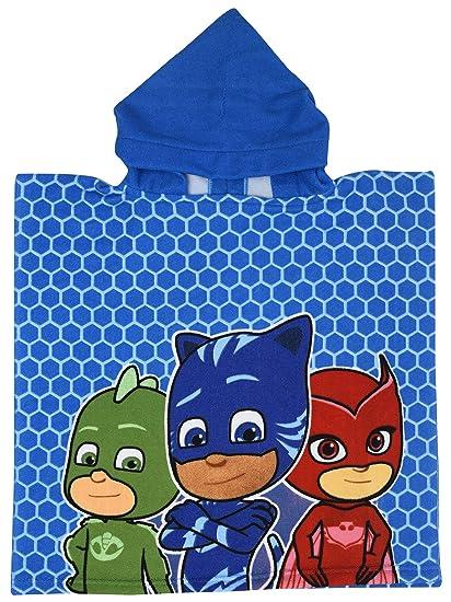 Stamion PJ Masks Poncho Towel 100cm x 50cm Owlette, Catboy and Gekko (PJ Mask