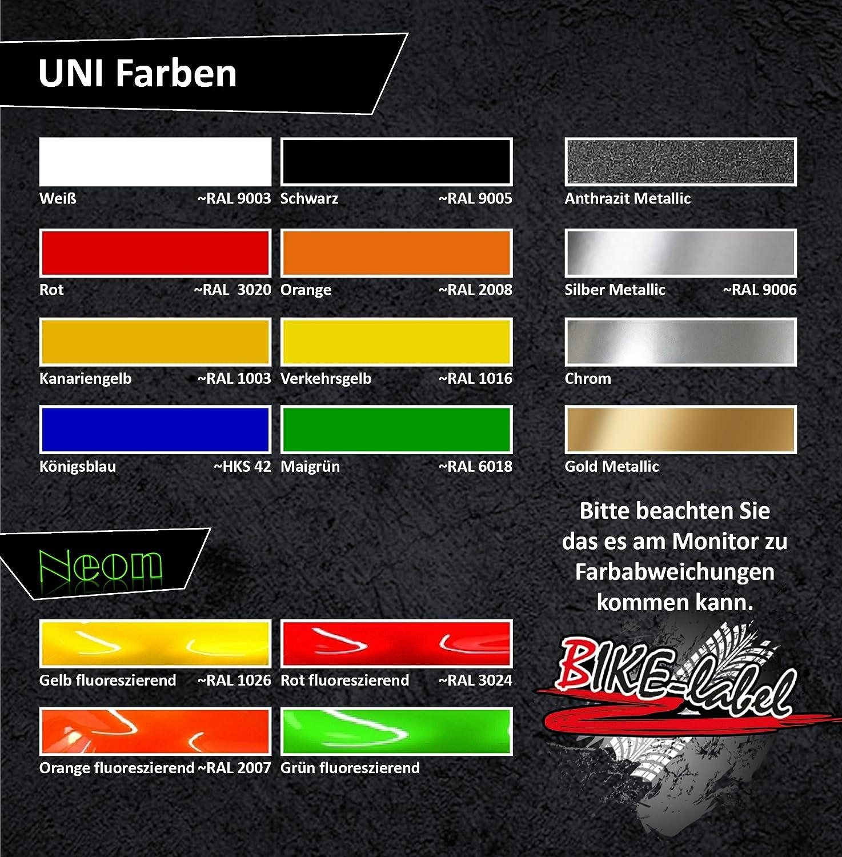 individuelle Form Seitentank-Pad 3D 800040 Dots universeller Tank-Schutz passend f/ür Motorrad-Tanks