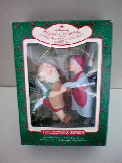 Hallmark Christmas Tree Ornament -- Home Cooking -- Handcrafted Ornament --  Dated 1987 - Amazon.com: Hallmark Christmas Tree Ornament -- Home Cooking