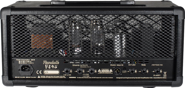 Randall USM-RD45HE Diavlo Series - Cabezal amplificador para guitarra (45 W): Amazon.es: Instrumentos musicales