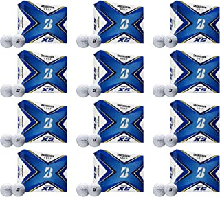 product image for Bridgestone Golf 2020 Tour B XS Reactive Urethane Distance White Golf Ball (12 Dozen)