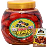Superv Gold Red Chilli Pickle - 400 gm