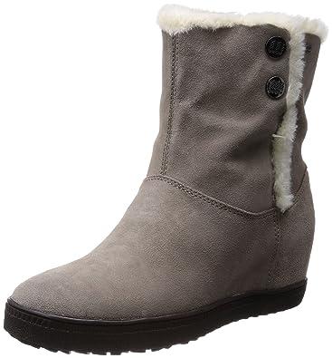 a381d5fae0bd73 Geox D Amaran. H. B ABX C, Boots fourrées Femme - Gris (Grey ...