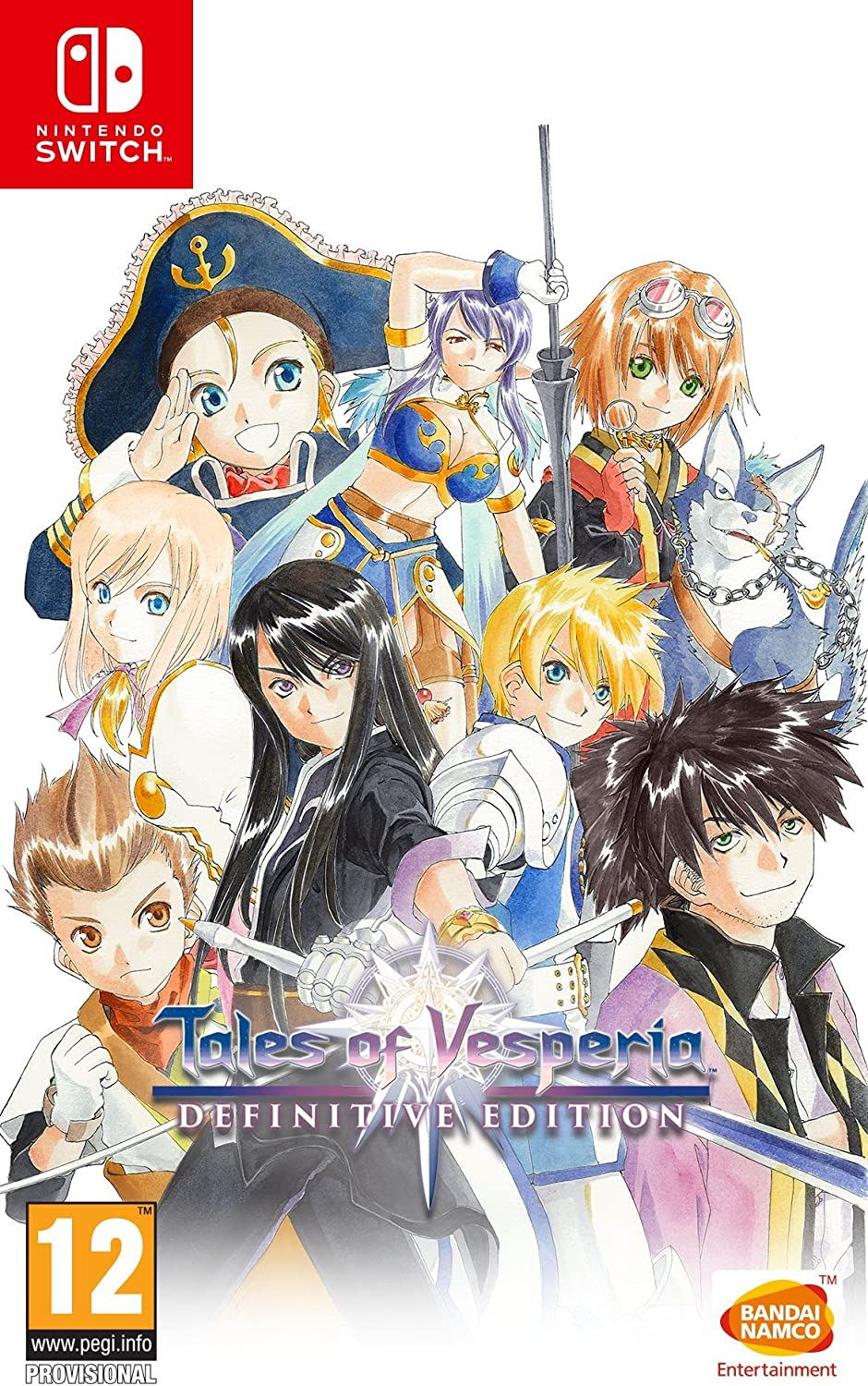 Tales of Vesperia: Definitive Edition [SWITCH] | Bandai Namco Entertainment