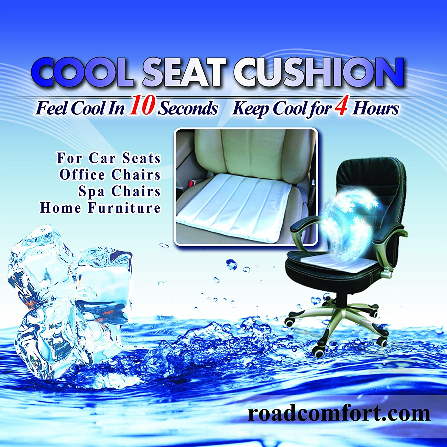 Amazon.com Self Cooling Seat Cushion Cool Pad For Wheelchair Car Seat Office Chair *Buy 2 Pads to Receive Extra $5 Off* Health u0026 Personal Care  sc 1 st  Amazon.com : pad chair - Cheerinfomania.Com