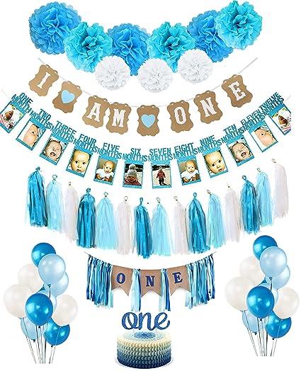 Kit de decoración para el primer cumpleaños de los niños ...