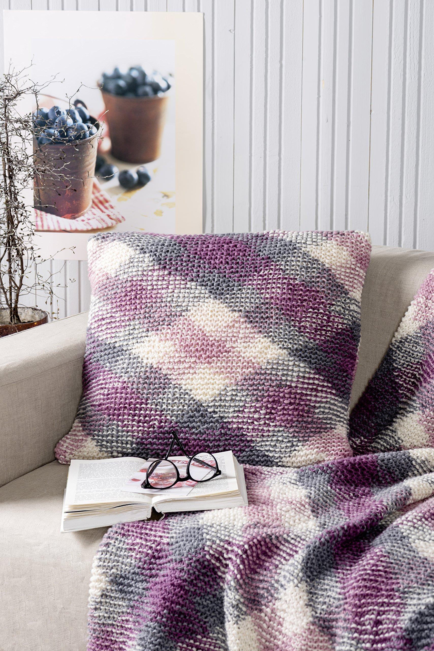 Woolly Hugs Karo Muster Einfach Mit Plan Multicolor Stricken