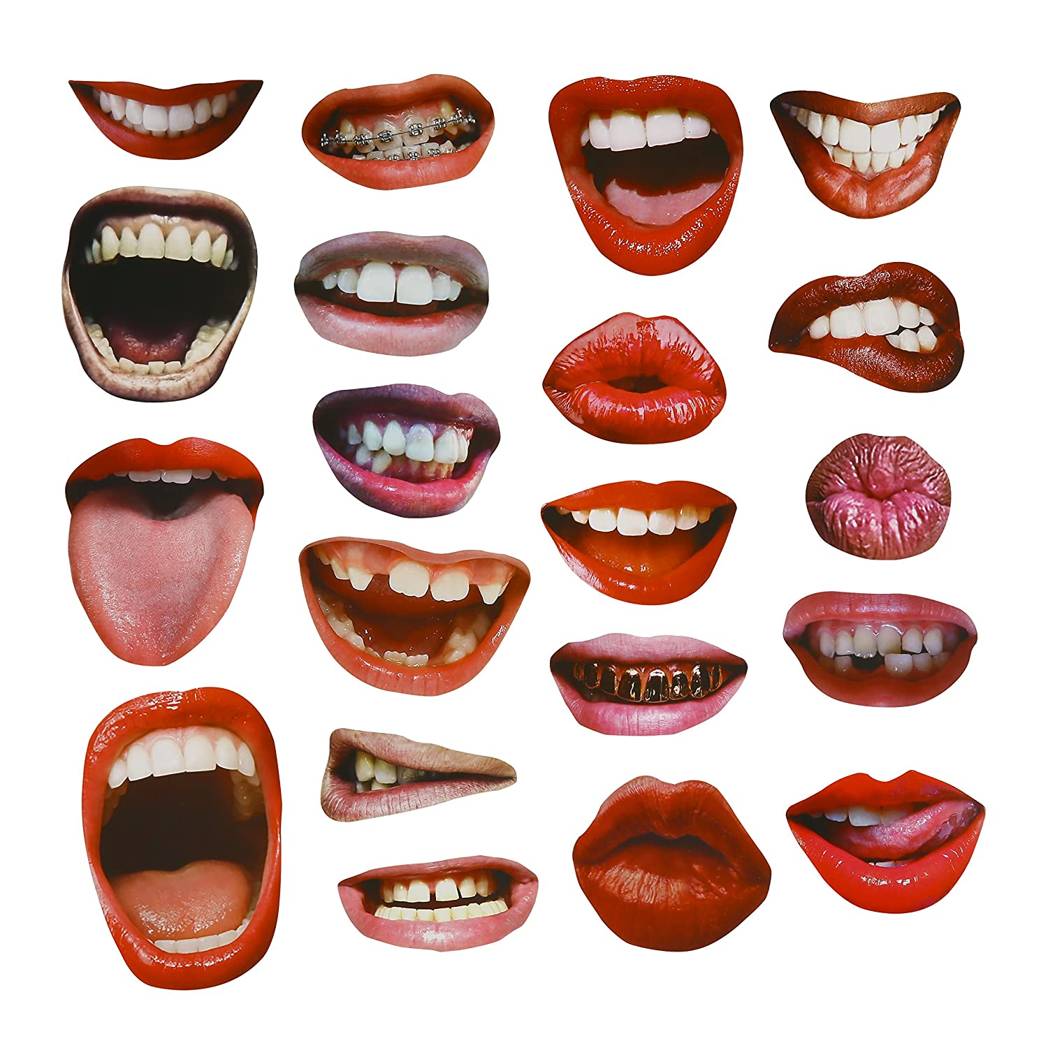 20PCS Funny Sexy Lips Mouth Photo Booth Props for Wedding Party Reunions  Birthdays: Amazon.co.uk: Toys & Games