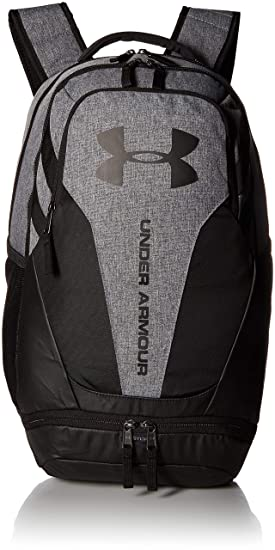 Under Armour UA Hustle 3.0 Mochila, Unisex Adulto, Gris (042), One Size: Amazon.es: Deportes y aire libre