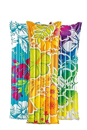INTEX 59720 - Colchón Flores, 183 x 69 cm: Amazon.es: Juguetes y ...