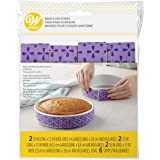 Wilton Bake-Even Baking Strips, Baking Tin Wraps, 6 Pieces